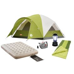 Coleman 2 Person Starter C&ing Package Find outdoors collections at Target.com! C& in  sc 1 st  Pinterest & Coleman Flatwoods 4 Person Tent | Camping Necessities | Pinterest ...