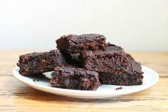 Flourless Vegan Pumpkin Brownies (gluten free, vegan)