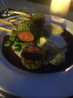 Lamb Chops in Prague Soho Restaurant - looks good, tastes even better