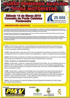 Curso Primeros Auxilios Motoristas Pontevedra