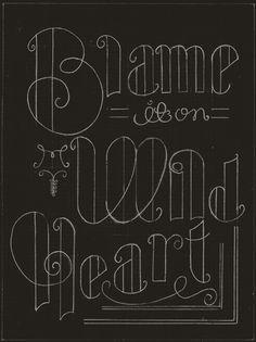 blame it on my wild heart