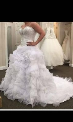 Allure Bridals C170 16: buy this dress for a fraction of the salon price on PreOwnedWeddingDresses.com