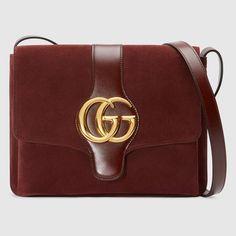 74a0226d4b4 Bolso de Hombro Arli Mediano - Gucci Bolsos de Hombro de Mujer  5501260YNAG6629 Burdeos