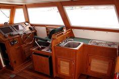 commercial fishing boat interior - Google Search