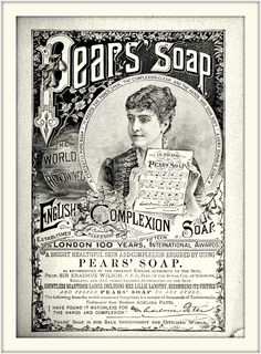 1885 January - Pear's Soap indorsed by Madame Adelina Patti ...