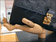 Louis Vuitton® Plug-In Handform Visual Merchandising Redux Work Inspiration, Visual Merchandising, Plugs, Hooks, Louis Vuitton, Chanel, Retail, Shoulder Bag, Fashion