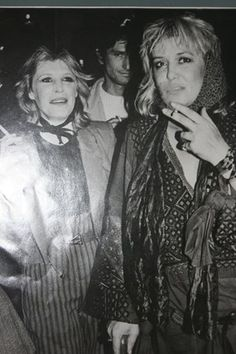 Anita Pallenberg and Marianne Faithfull #rock n roll