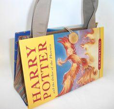 Order of Phoenix Harry Potter Book Purse Clutch by retrograndma
