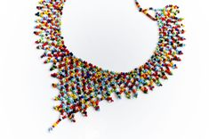 Star Necklace, Beaded Necklace, Handmade Necklaces, Handmade Jewelry, Indigenous Art, Bead Weaving, Handicraft, Seed Beads, Etsy