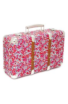 Gorgeous Liberty of London floral print suitcase