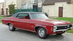 1969 Chevrolet Impala SS427, 427/390hp 4bbl V8, 4speed Stick, 3.55 12bolt Positraction Axle and F41 suspension