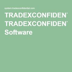 TRADEXCONFIDENTIAL Software