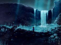 Undertale-waterfall