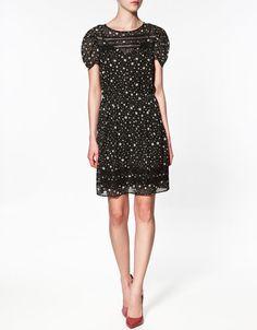 Cute!!!! Lindo vestido de Zara #moda @EnGuadalajara ----
