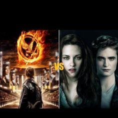 Hunger games vs. Twilight saga