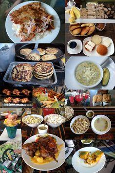 Food and drinks from Loja, Ecuador