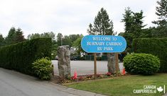 Burnaby Cariboo RV Park and Campground Rv Parks And Campgrounds, Parks Canada, Vancouver, Camper, Outdoor Decor, Caravan, Camper Van, Airstream Trailers, Motorhome