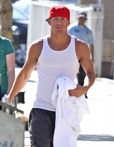Channing Tatum, Magic Mike set