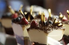 Torte im Glas