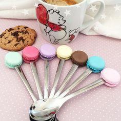 cuillère gourmande macaron couleur personnalisable : Cuisine et service de table par grain-de-delice