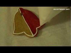 ▶ Mézeskalács díszítése - YouTube