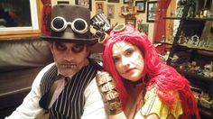 2015 Steampunk Jack and Sally