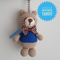@ RabiaWorlds teddy bear keychain afahead magic ring eagle in the ring - vip photography Amigurumi Patterns, Crochet Patterns, Hello Kitty Keychain, Plastic Bag Crochet, Mug Cozy, Survival Blanket, How To Make Toys, Magic Ring, Crochet Bear