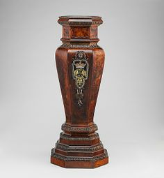 *Pedestal Attributed to Thomas How (British, active 1710–33) Date: ca. 1725–35