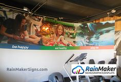 We specialize in fitness center murals. Wall Murals, Signage, Motivational, Branding, Interior, Fitness, Wallpaper Murals, Brand Management, Murals