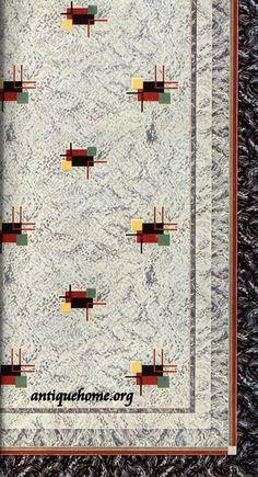 1942 Linoleum patterns from Congoleum. Aquaguard Flooring, Linoleum Flooring, Bedroom Flooring, 50s Decor, Retro Home Decor, Home Decor Trends, Retro Pink Kitchens, Transition Flooring, Vintage Appliances