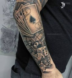 100 Male Forearm Tattoos for Inspiration Tattoos Arm Mann, Forarm Tattoos, Cool Forearm Tattoos, Badass Tattoos, Body Art Tattoos, Cool Tattoos, Celtic Tattoos, Tattoo Names, Card Tattoo Designs