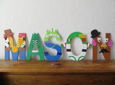 Best Seller Toy Story Letter Art by TheLetterBug on Etsy