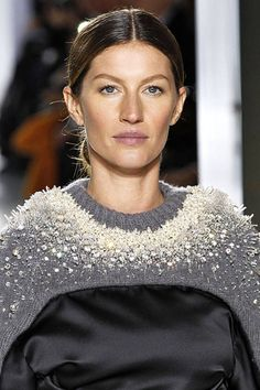The center part is a top hair trend for Fall 2014. Click to see the rest!