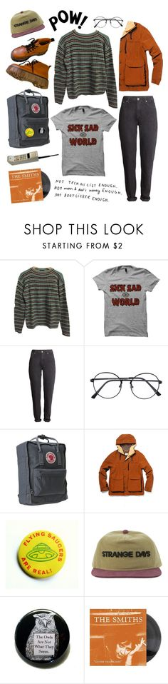 """149. Stranger Things"" by krule ❤ liked on Polyvore featuring Prada, H&M and Steven Alan"