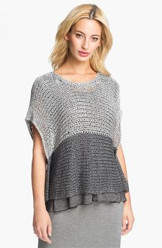 Eileen Fisher Open Twist Stitch Crop Top available at Nordstrom I love this sweater!