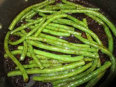 Fake Out Outback Green Beans. Seriously the best green beans ever! Substitute Maggie with soy sauce