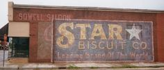 """Ghost sign from the movie """"Hope Floats"""". www.artisanfinishes.net"""