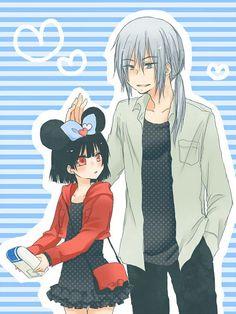 Himekawa et Chiaki. Beelzebub Oga, Beelzebub Anime, Romance, Geek Stuff, Fun Stuff, Anime Manga, Childhood, Illustration, Webtoon