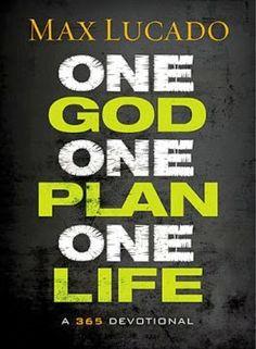 Enter to win a copy of Max Lucado's tween/preteen devorional One God One Plan One Life.