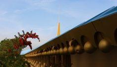 Frank Lloyd Wright, Marin Civic Center, Marin County, California.
