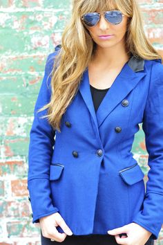 Cadet Kelly Jacket: Navy Blue