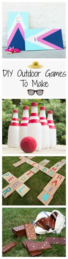 18 DIY Lawn Games You Should Play This Summer Outdoor Party