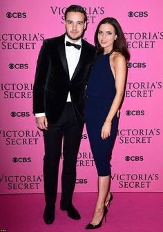 Date night: One Direction's Liam Payne brought his girlfriend Sophia Smith along to the ri...