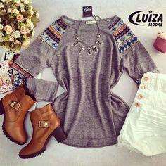 #tendencia #outonoinverno #luizamodas #moda #fashion #estilo