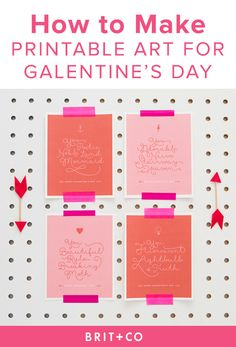 galentines day printable