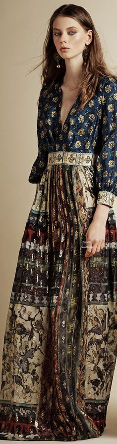 Alberta Ferretti Pre Spring 2016 collection