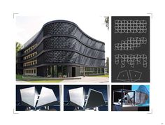 Created by Staab Architects, the FLARE is a modular system that creates dynamic facades for any building or wall typology. Fire, Building, Wall, Facades, Inspiration, Design, Architecture, Biblical Inspiration, Buildings