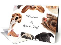 From Pets Father's Day Best Dad to Pet Dogs & Cats from all of Us card. Personalize any greeting card for no additional cost! Cards are shipped the Next Business Day. Pet Dogs, Dog Cat, Father's Day Greeting Cards, Fathers Day Cards, Best Dad, Holiday Cards, Dads, Teddy Bear, Animals