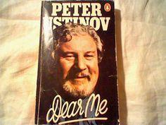 Peter Ustinov Autobiography Dear Me; Penguin mass market paperback