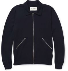 Our Legacy Zipped Knitted Merino Wool Cardigan | mens sweater | mens fashion | mens style | menswear | mens cardigan
